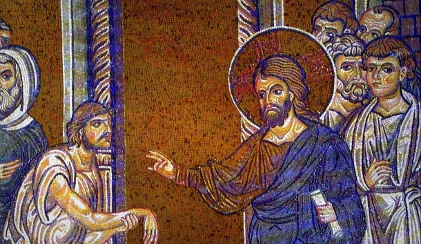 Christ-heals-the-man-with-a-paralyzed-hand-610x353