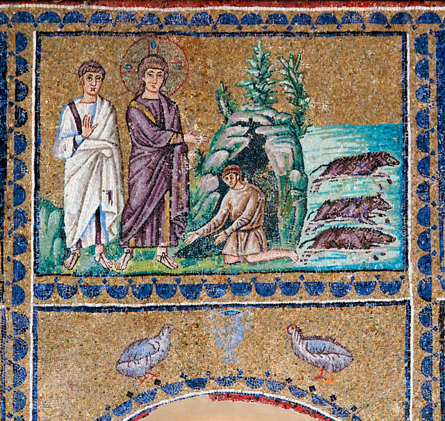 22.4.2010: Sant'Apollinare Nuovo, Ravenna